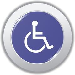 bouton handicapé