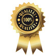 100% Qualität - Goldsiegel