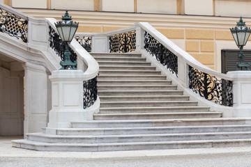 Stiege von Schloss Schönbrunn