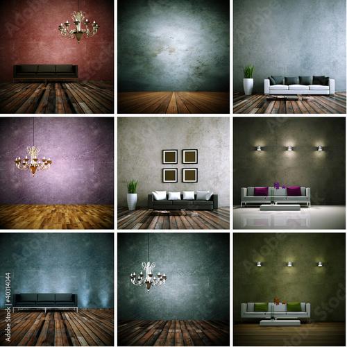 Sofasammlung - 9 Innenaufnahmen