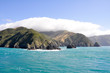 Cook Strait seen from the ferry (New Zealand)