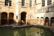 Roman baths, Bath, Somerset, UK