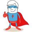 Superheld, Daumen hoch
