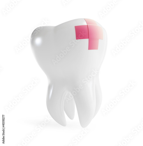 repair a tooth patch