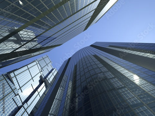 skyscrapers 3d