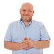 Charismatischer Mann mittleren Alters