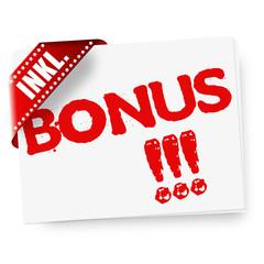 Bonus! Button, Icon