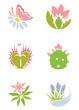 Set -- flowers