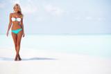 woman in bikini on beach - Fine Art prints