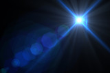 Fototapety Lens flare abstract background