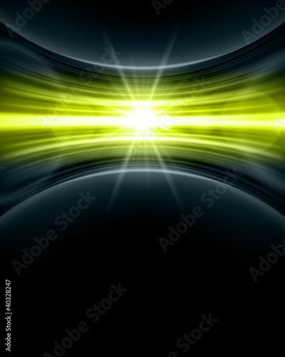 Smooth technology light lines vector background eps 10