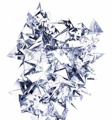 metal fragments