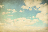 Vintage cloudy background - Fine Art prints