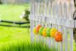 Eierdekoration zu Ostern