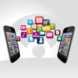 cloud, smartphones, partage de fichiers