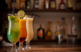Fototapety Three cocktails