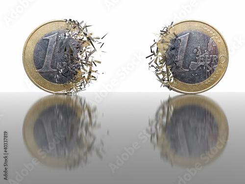 Braking Euro Coins