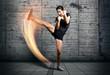 Leinwanddruck Bild - Self-Defense