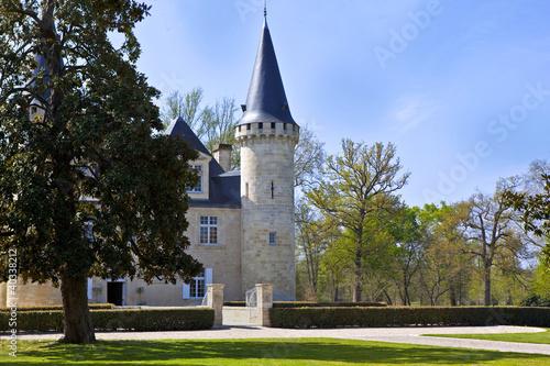 Château, Médoc, Bordeaux, viticole, parc, jardin, riche