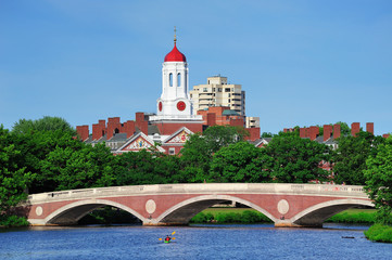 Harvard campus in Boston