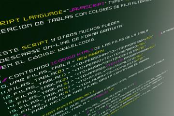 The Code Web Script