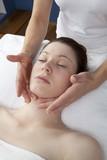 rejuvenating massage of the face poster