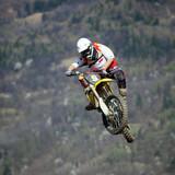 Fototapete Kressesamen - Biker - Motorsport