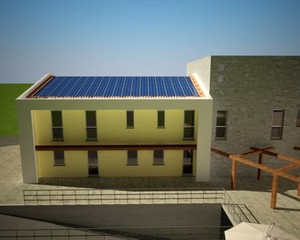 schema pannelli solari inverter immissione rete elettrica
