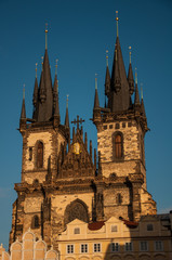 parish of Our Lady before Tyn at Old Town Square of Prague
