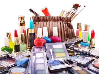 Decorative cosmetics for makeup.