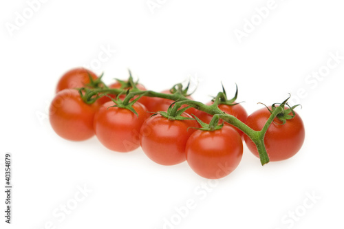 Organic cherry tomatoes, close-up