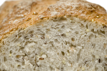 Loaf of bread, close up