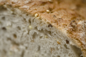 Bread, close up