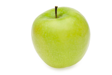 Green apple, close up