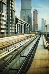 Railroad in Dubai