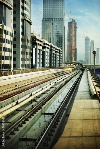 Aluminium Dubai Railroad in Dubai