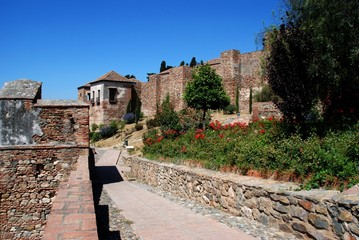 Citadel precinct, Alcazaba, Malaga, Spain © Arena Photo UK