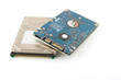 Two hard drives (HDD) for notebook