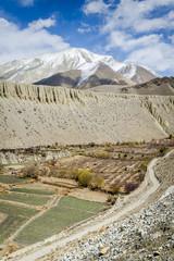 Spring panorama of Himalaya