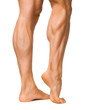 Muskulöse Waden