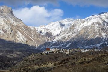 Himalaya panorama