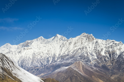 Panorama of Himalaya mountains