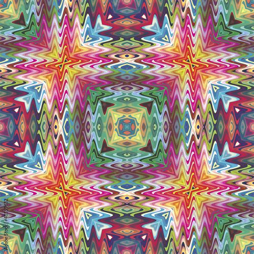 Modern Native American pattern, seamless