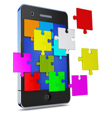 phone apps mit puzzel