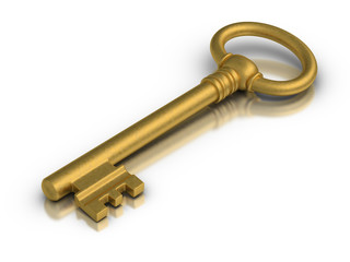 Golden Skeleton Key