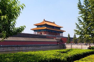 The Historical Forbidden City In Beijing
