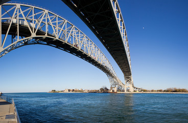 Large Bridge over Water