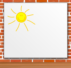 Plakat Poster Werbung - Sonne Textfreiraum
