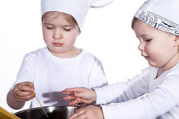 Kinder Kochen Spaghetti