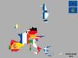 Eurozone map